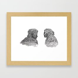 Your Father Would be Proud Line Art Framed Art Print