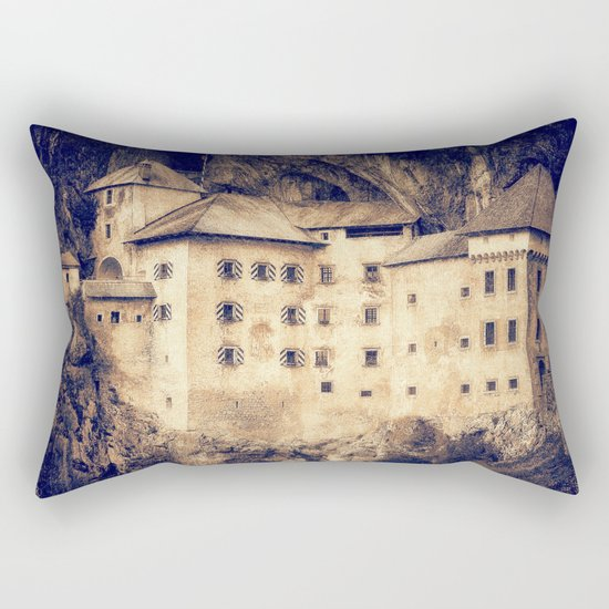 Old Castle Rectangular Pillow