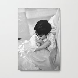 Baptism of Ben Metal Print
