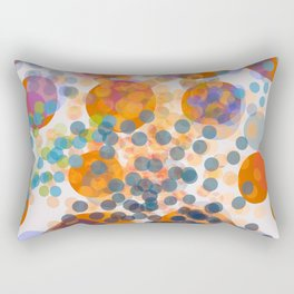 Abstract Composition 475 Rectangular Pillow