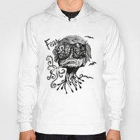 fear and loathing Hoodies featuring Fear & Loathing by Saravo Studio