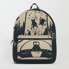 Unidentified Feline Object Backpack