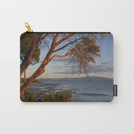 Sunset on the Arbutus at Rathtrevor Beach in Parksville BC Canada Carry-All Pouch