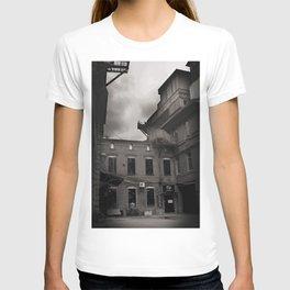 alone, empty, dark T-shirt