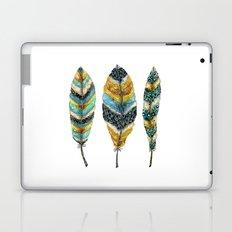 Midnight Feather Trio Laptop & iPad Skin