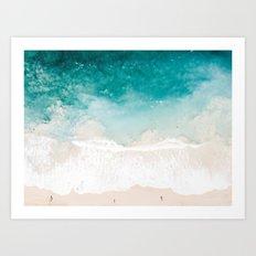 Pai'a Hawaii Beach Shot Art Print