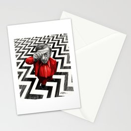 Homage to Twin Peaks - Fire walk with me Stationery Cards