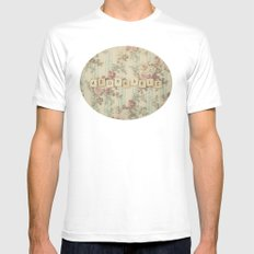 Adorkable Mens Fitted Tee MEDIUM White