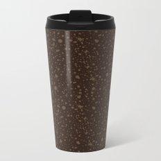 Trail Status / Brown Metal Travel Mug