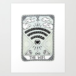 The Wifi Art Print