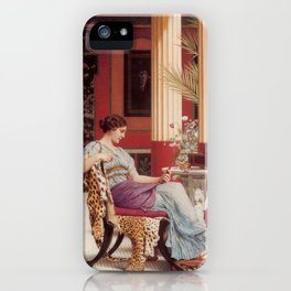 The Jewel Box by John William Godward iPhone Case