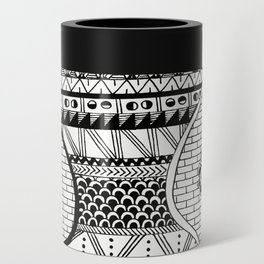 Wavy Geometric Patterns Can Cooler