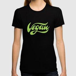 Vegan Lettering design T-shirt