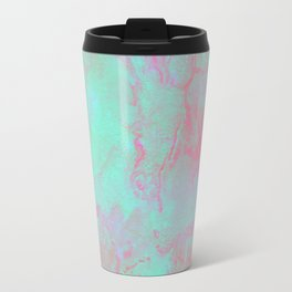 Teal Pink Travel Mug