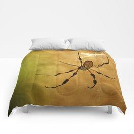 Banana Spider Comforters