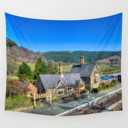Carrog Railway Station Wall Tapestry