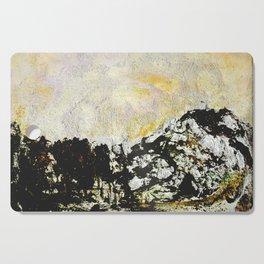 Golden mountains Cutting Board