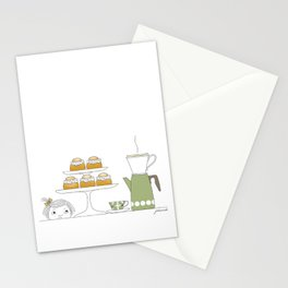 Fika with Semlor Stationery Cards