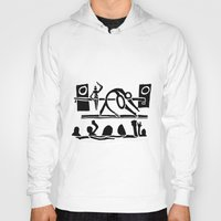 concert Hoodies featuring The Dance Concert by Ben Guidry
