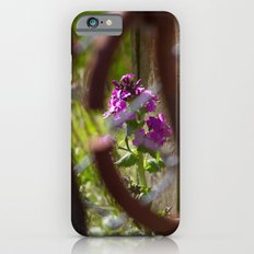 Iron and Purple Flowers Slim Case iPhone 6s