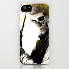 The Demon Barber iPhone Case