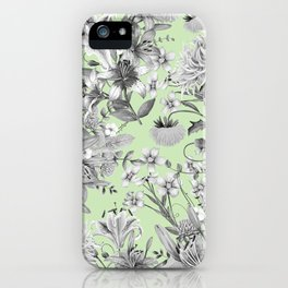 FLORAL GARDEN 8 iPhone Case