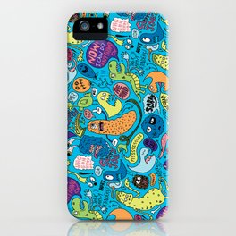Gettin' Loose Pattern iPhone Case