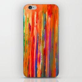 Neon Down iPhone Skin