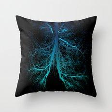 Aqua Lungs Throw Pillow