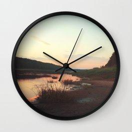 Dreamy Morning Wall Clock