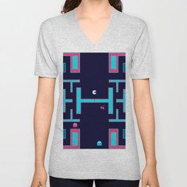 Pacman #36DaysOfType Unisex V-Neck