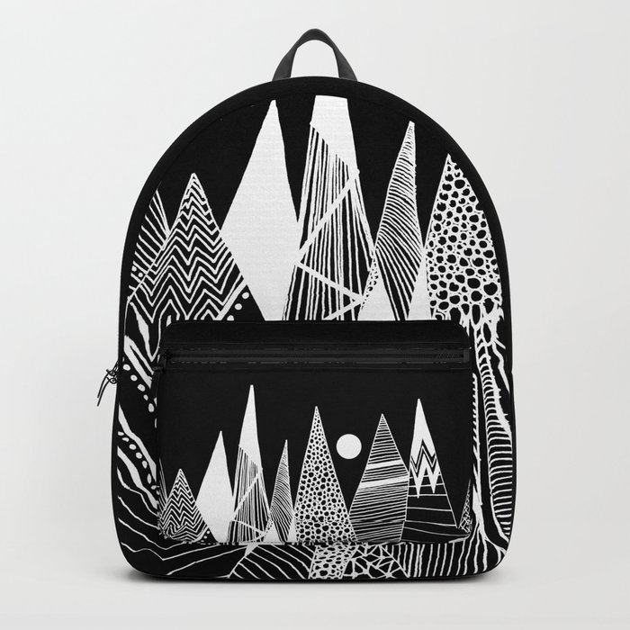 Patterns in the mountains Backpack