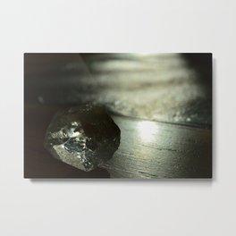Crystal-born and Light-bathed Metal Print