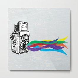 Shutterbug Metal Print