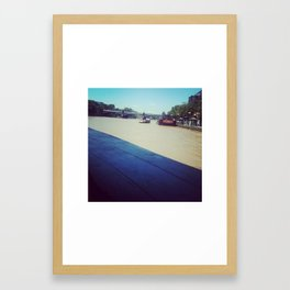On the Yarra Framed Art Print