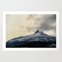 Silence in the Snow Art Print