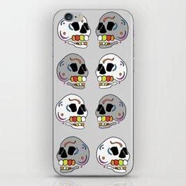 Skulls all Around iPhone Skin