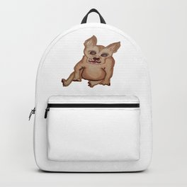 Dog with pointy ears Backpack