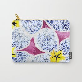 flower VI Carry-All Pouch