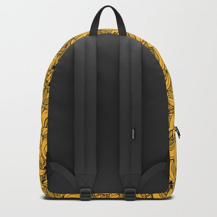 Plenty of Bananas - Yellow Backpack