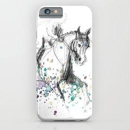 Horse (Rainy canter) iPhone Case