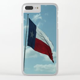 Texas Afternoon Clear iPhone Case