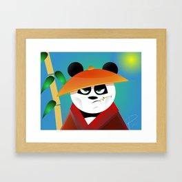 Panda Pete Framed Art Print