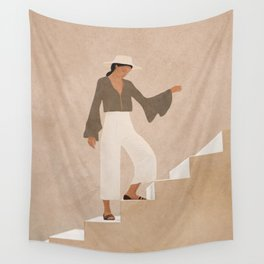 Stepping Up Wall Tapestry
