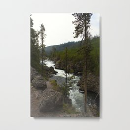 firehole river Metal Print