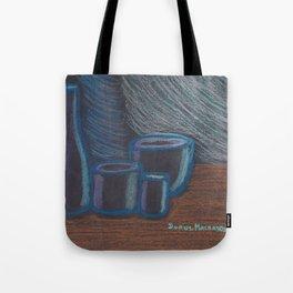 Blue Rhapsody Minimalist Tote Bag
