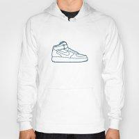 nike Hoodies featuring #13 Nike Airforce 1 by Brownjames Prints