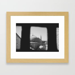 View from Hagai Sophia Framed Art Print
