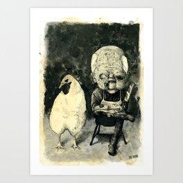 Colonel Sanders Sr. Art Print