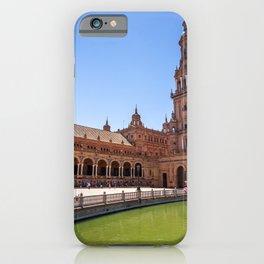 Plaza de España in Seville, Spain iPhone Case